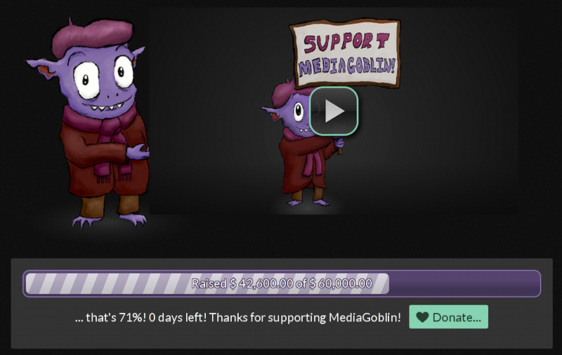 The MediaGoblin campaign wraps up!
