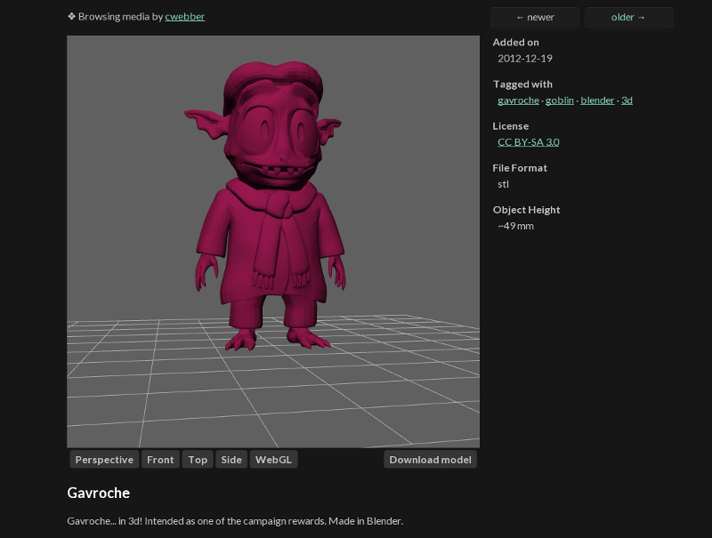 3d support!  WebGL version!